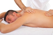 maleformalemassage- to man on his shoulders & back